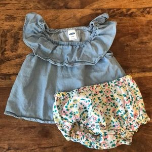 Old Navy Baby Girls Two-Piece Outfit